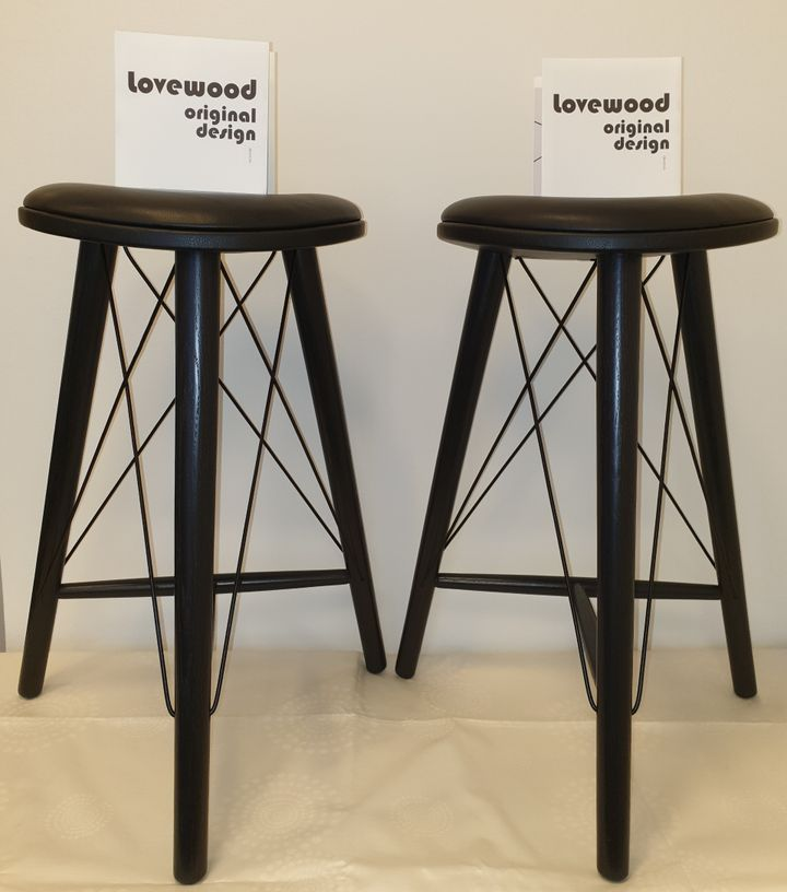 Thule High Stool H66 fra møbelproducenten Lovewood