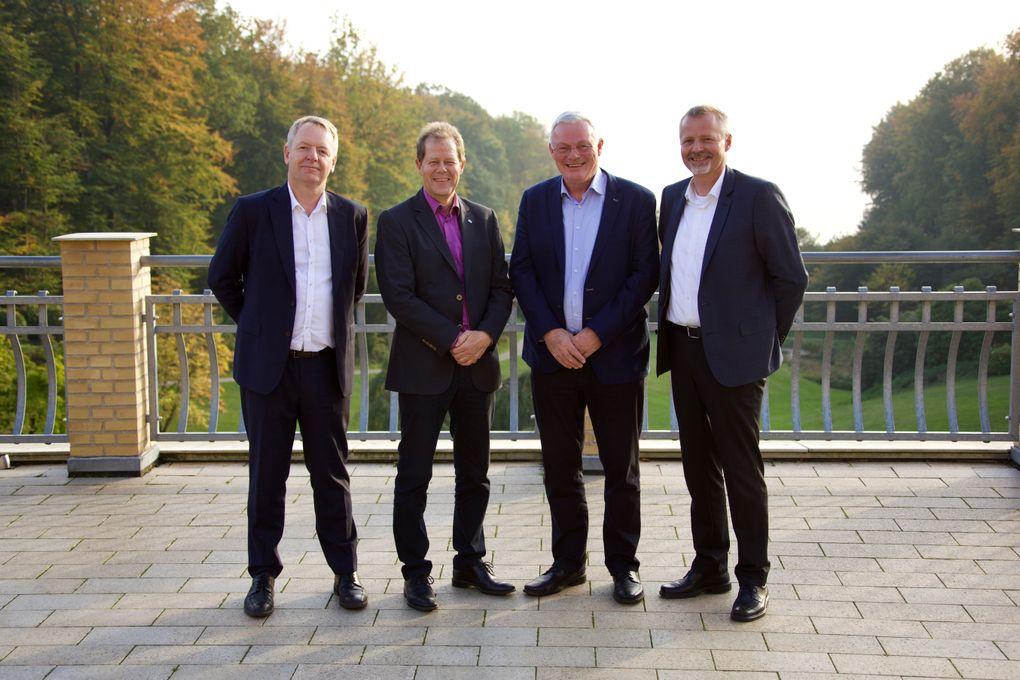 Niels Duedahl, (SE), Jens Erik Platz (SE), Jan Skytte Pedersen (Eniig) og Martin Romvig (Eniig)