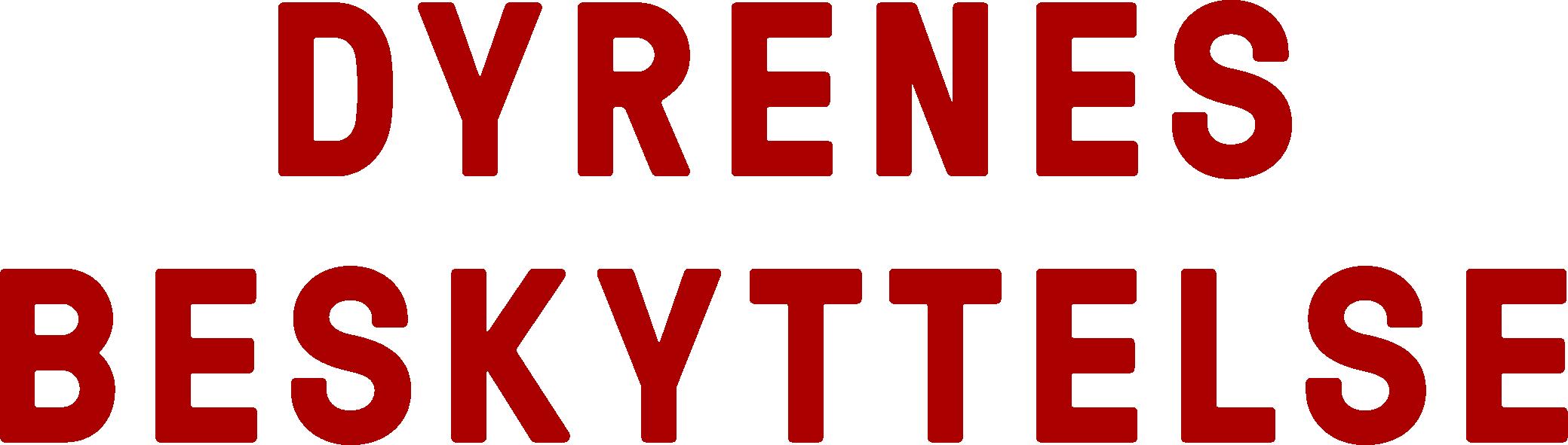 Dyrenes Beskyttelse logo - rød | Dyrenes Beskyttelse