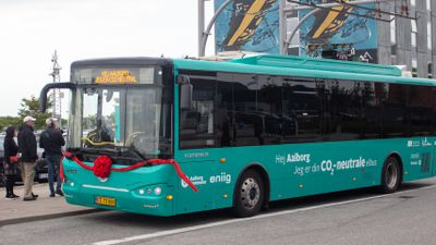 Aalborgs CO2-neutrale elbus. Foto: House of Energy