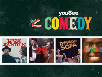 YouSee Comedy: Ny dansk kanal til alle, der elsker comedy