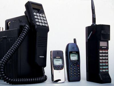 90'er mobiler lever endnu