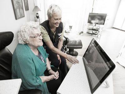 Digitalt værktøj løfter plejeområdet