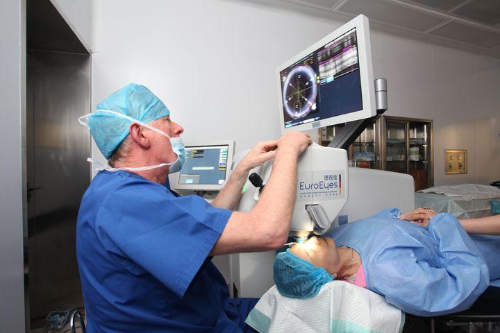 grå stær operation silkeborg