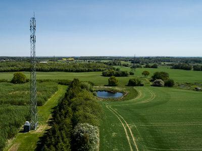 Første 5G-forsøg i åbent landskab giver viden om teknologiens muligheder for fremtidens landbrug