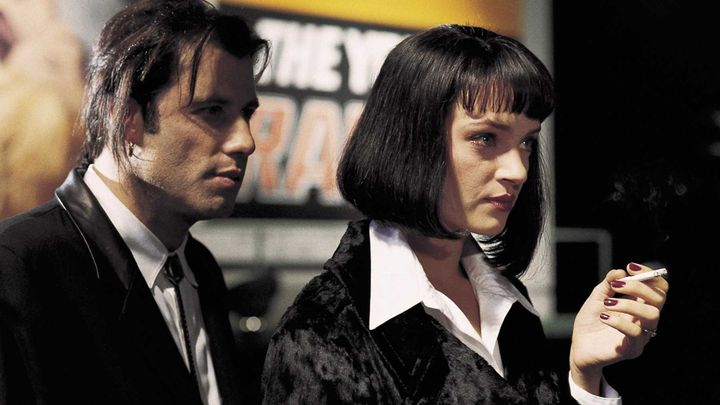 Fra filmen 'Pulp Fiction'.