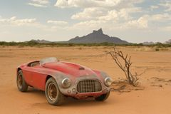 Arizona ladefund - Ferrari 166 MM Barchetta Touring.