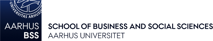 AARHUS Universitet School of Business and Social Sciences