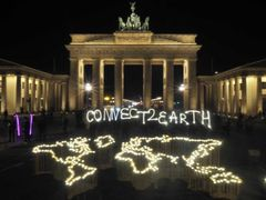 Brandenburger Tor i Berlin er med i Earth Hour igen i år. Foto: WWF