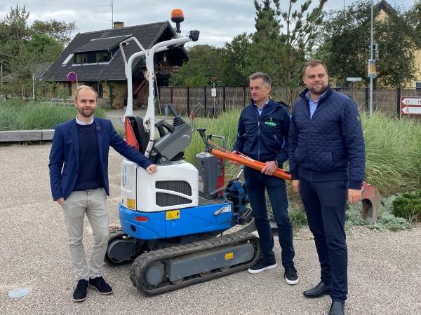 Michael Harjo, Peter Bredgaard og Steffen Jensen mødtes i Liseleje