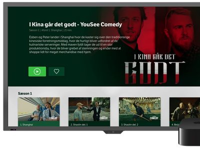 Stream tv-pakken direkte via Apple TV