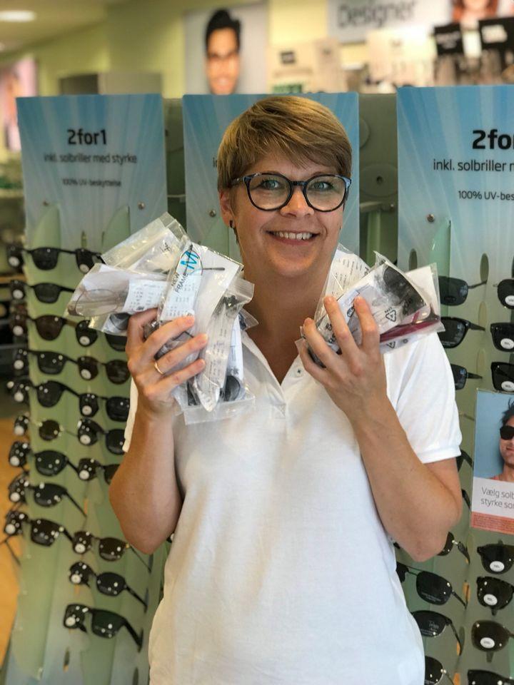 1c328b82ea60 Optiker Heidi Skytt Knudsen fra Louis Nielsen i Næstved tager til Tanzania  og uddeler brugte briller