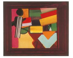 Howard Hodgkin, Talking About Art, 1975, Oil on wood, 106 x 127 cm. © The Estate of Howard Hodgkin