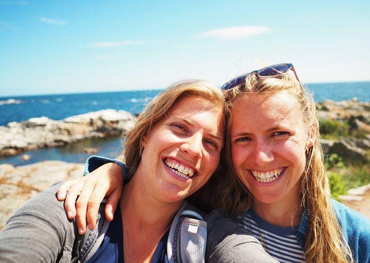 Geograf Tine Tolstrup og sociolog Sarah Steinitz har været på rejse rundt til de danske øer, som er en del af Ø-passet. Nu deler de ud af deres oplevelser. Foto: Ødysséen