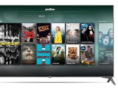 Stream hele YouSee's tv-pakke direkte fra LG TV