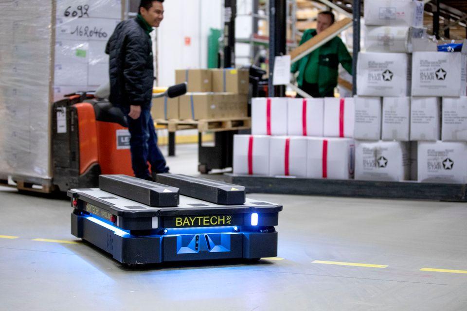 Arbejdsmiljøløft: Mobile robotter gør arbejdspladsen mere sikker