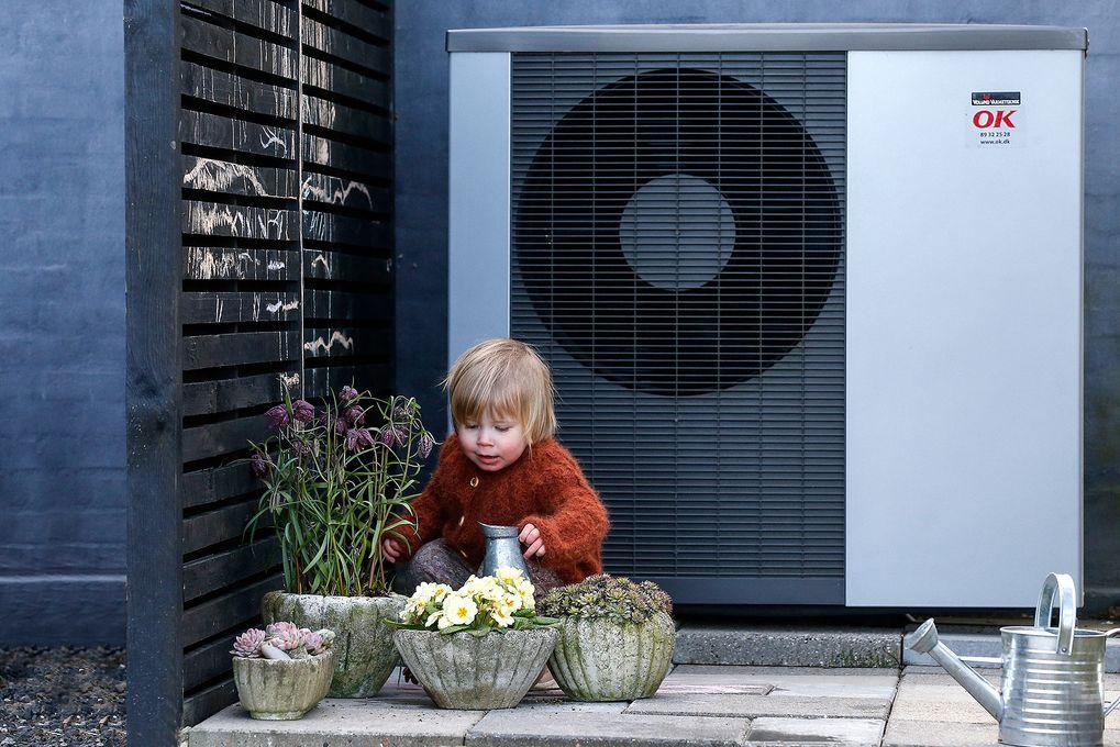 Der er flere muligheder for støtte til en varmepumpeinstallation. Derfor er det vigtigt at få god vejledning i forhold til ens behov. Foto: Ole Hartmann Schmidt