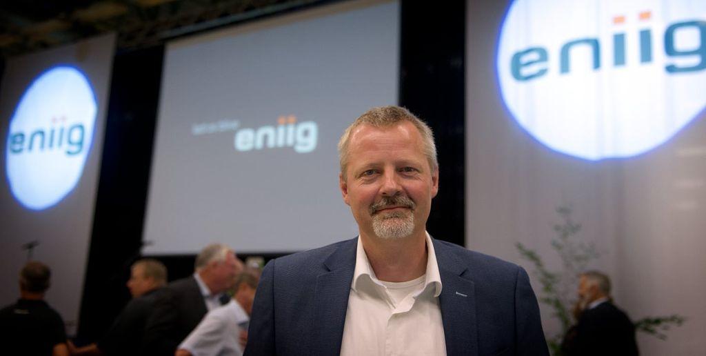 Martin Romvig, administrerende direktør i Eniig